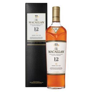 The Macallan 12 Year Old Sherry Oak Casks Highland Single Malt Scotch Wh...