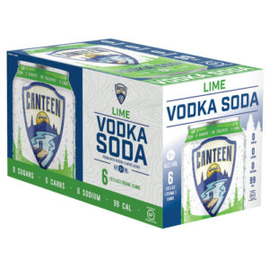 Canteen Cocktials • Lime Vodka 6pk-12oz