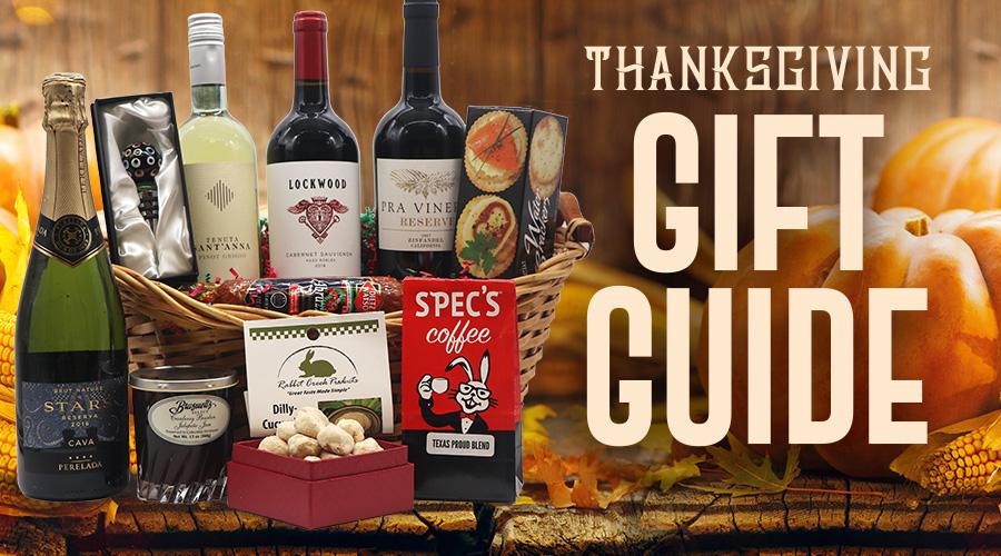 Thanksgiving Host Gift Guide - Spec's Wines, Spirits & Finer Foods