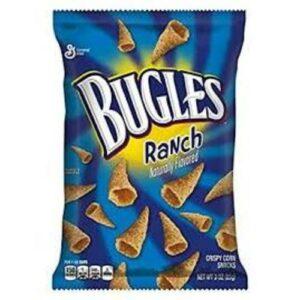 Bugles Ranch Crispy Corn Snacks