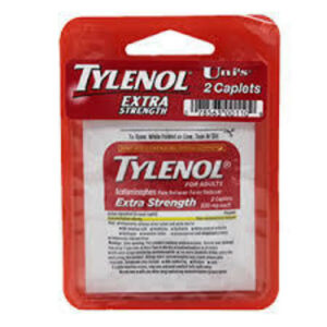 Unis • Tylenol Extra Strength