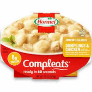 Hormel Compleats Chicken & Dumplings Bowl