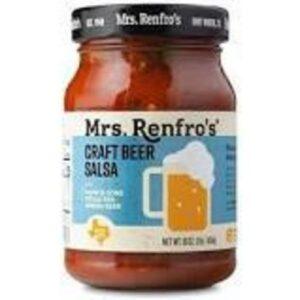 Mrs Renfro's Texas Red Craft Beer Salsa