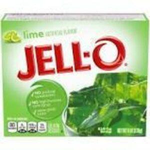 Jell-o Lime Gelatin Dessert