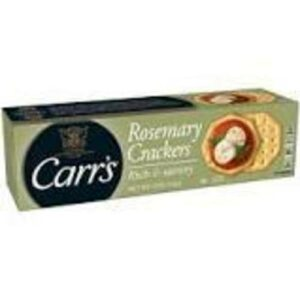Carr's Rich And Savory Rosemary Crackers