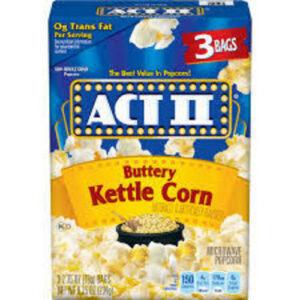 Act Ii Microwave Popcorn Kettle Corn