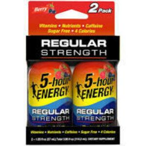 5-hour Berry Energy Shot 2pk