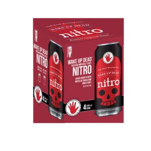Left Hand Wake Up Dead Stout Nitro • 4pk Can