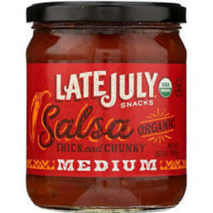 Late July Medium Organic Salsa