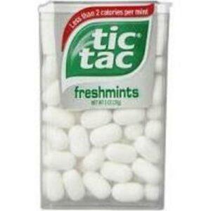 Tic Tac Fresh Breath Freshmint Hard Candy Mints
