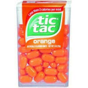 Tic Tac Fresh Breath Orange Hard Candy Mints