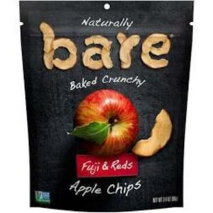 Bare Fuji & Red Apple Chips