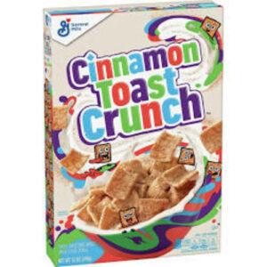 General Mills Cinnamon Toast Crunch Breakfast Cereal