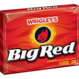 Wrigley's Big Red Cinnamon Chewing Gum Slim Pack