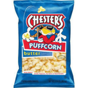 Chester's Puffcorn Butter Flavored Popcorn