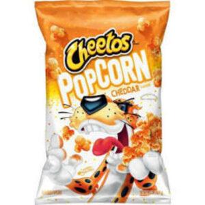Cheetos Cheddar Flavored Popcorn