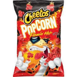 Cheetos Flamin Hot Cheese Flavored Popcorn