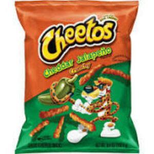 Cheetos Crunchy Cheedar Cheese Jalapeno Flavored Snacks