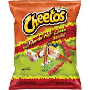 Cheetos Crunchy Cheese Flamin Hot Flavored Snacks