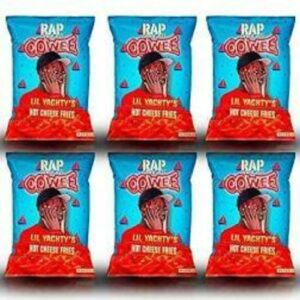 Rap Snacks Chips • Yachty Hot Cheese Fries