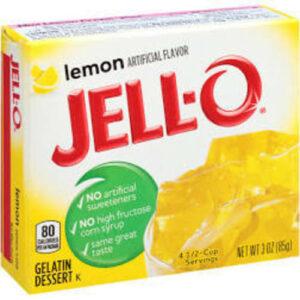 Jell-o Lemon Gelatin Dessert