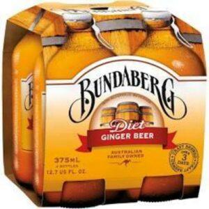 Bundabery Diet Ginger Beer Soda