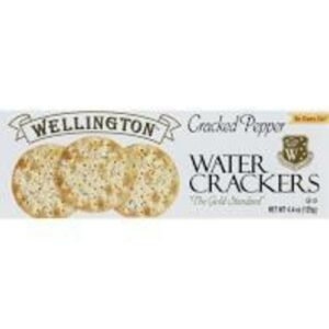 Wellington Cracked Pepper Water Crackers