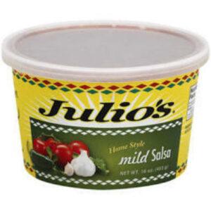Julio's Mild Tubs Of Salsa