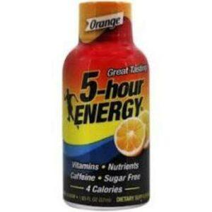 5-hour Orange Energy Shot