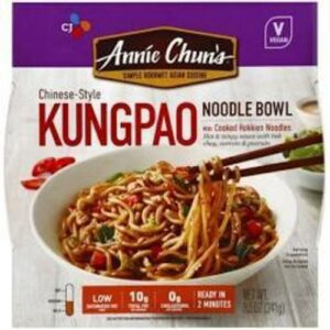 Annie Chun's Chinese-style Kung Pao Noodle Bowl