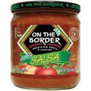 On The Border Hot Salsa