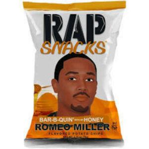 Rap Snacks Chips • Romeo Miller Honey BBQ