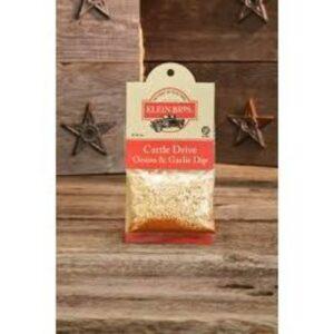 Klein's Bros Garlic And Onion Dry Dip Mix