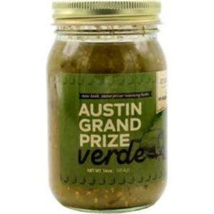 Austin Grand Prize Verde Salsa