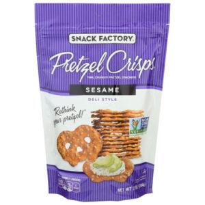Snack Factory Sesame Pretzel Crisp