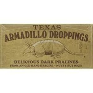 Armadillo Candy Droppings Pecan Pralines