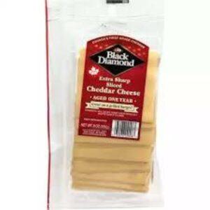 Black Diamond Extra Sharp Sliced Cheese