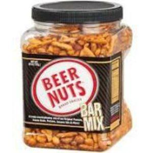 Beer Nuts Original Bar Snack Mix In Resealable Jar