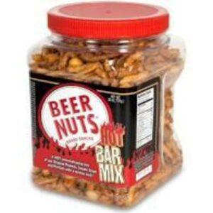 Beer Nuts Hot Bar Snack Mix In Jar