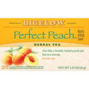 Bigelow Perfect Peach Herbal Tea Bags