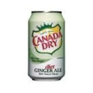 Canada Dry Ginger Ale • Diet 12 Oz Can