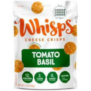 Cello Tomato Basil Parmesan Cheese Whisps Snack