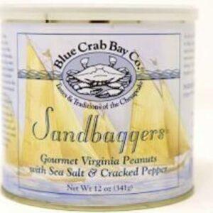 Blue Crab Bay Sandbaggers Sea Salt & Cracked Pepper Peanuts