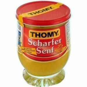 Thomy Extra Hot German Mustard