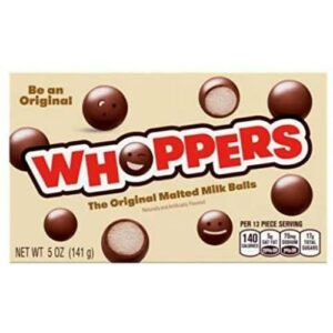 Whoppers Original Malted Milk Ball Candy