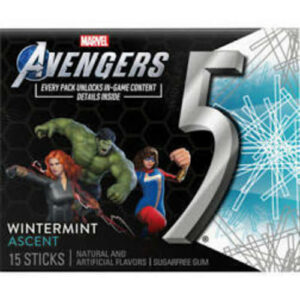 Wrigley's 5 Gum Wintermint Ascent Sugar Free Chewing Bum