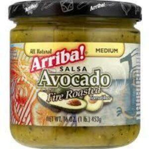 Arriba! Fire Roasted Avocado Salsa