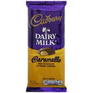 Cadbury Dairy Milk Chocolate Caramel Candy Bar