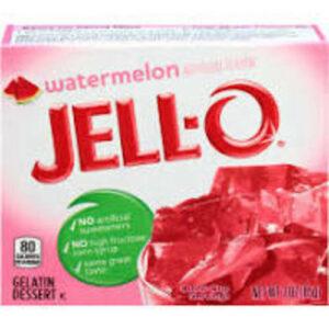 Jello Watermelon Flavor Gelatin Dessert