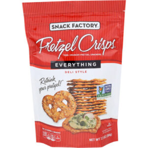 Snack Factory Pretzel Crisps Everything